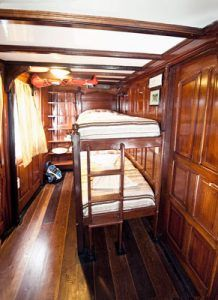 Green Stateroom on the Motor Yacht Tucano