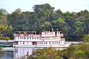 Exploring deep in the Amazon on the Motor Yacht Tucano