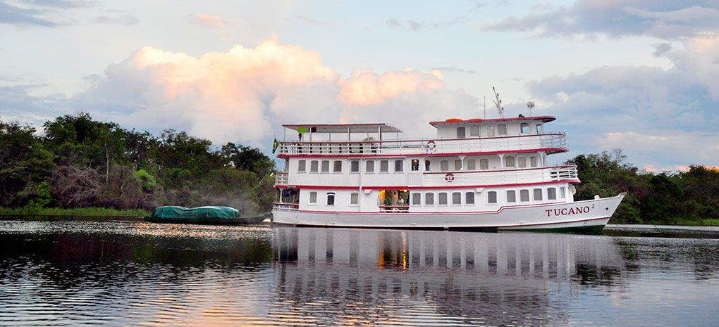 M/Y Tucano, Amazon River