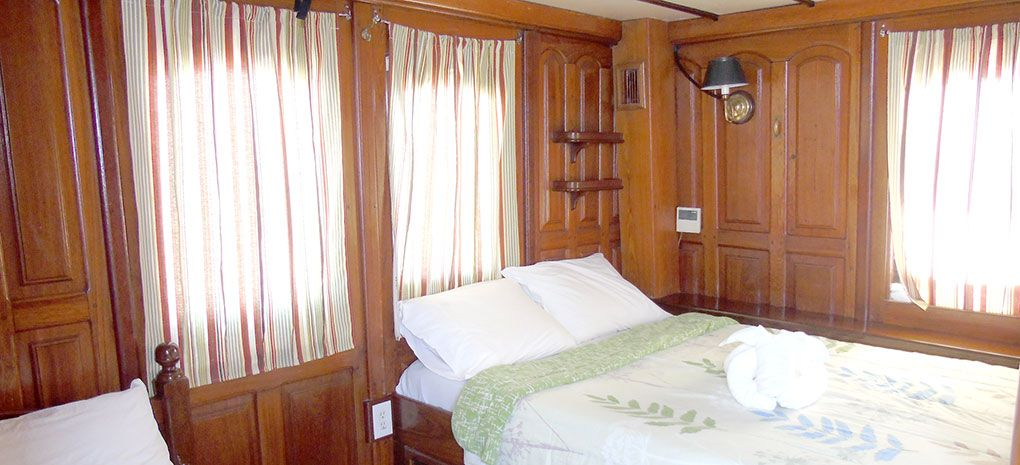 Yellow Category Stateroom / Cabin on Tucano Amazon River Cruise