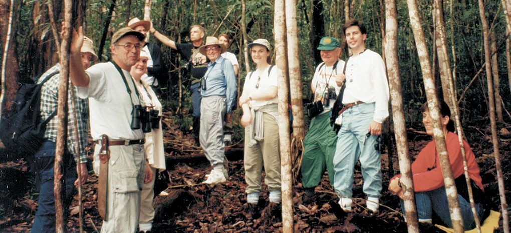 Amazon Rainforest Expedition Tour, Walking through the Jungle