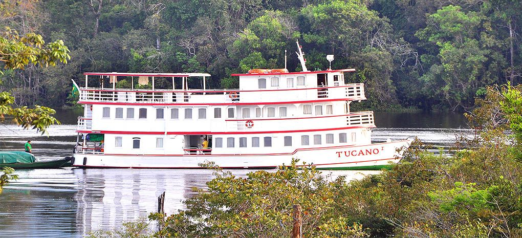 Motor Yacht Tucano on an Amazon River Cruise