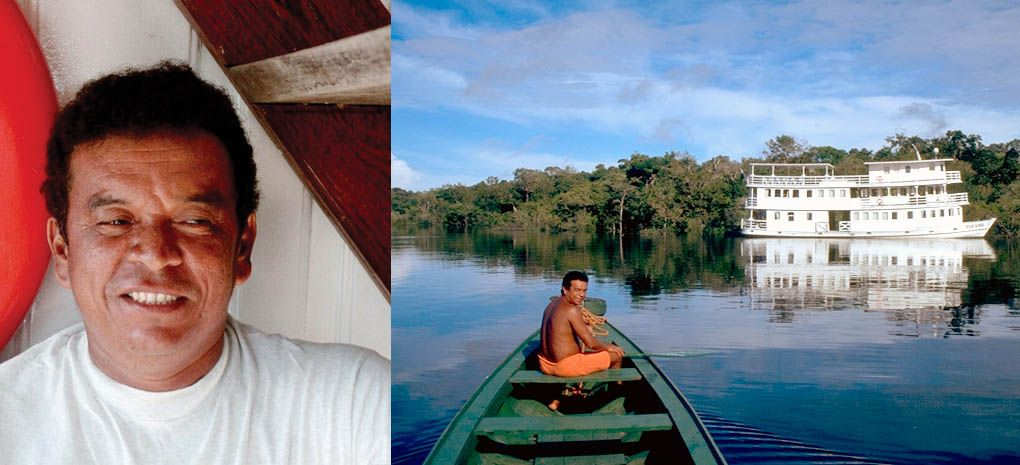 Claudimir, Tour Guide, Amazon River Cruise