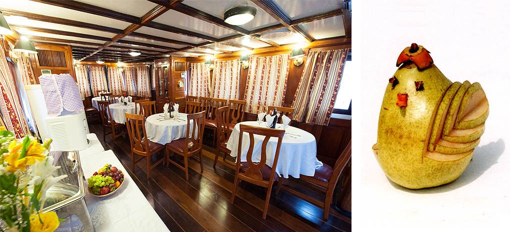 Tucano Salon (Dining Room), Amazon River Cruise